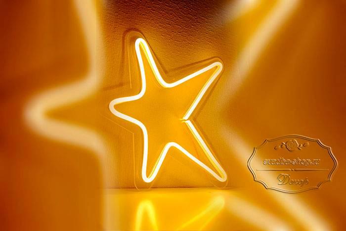 Фигура из гибкого неона - Звезда